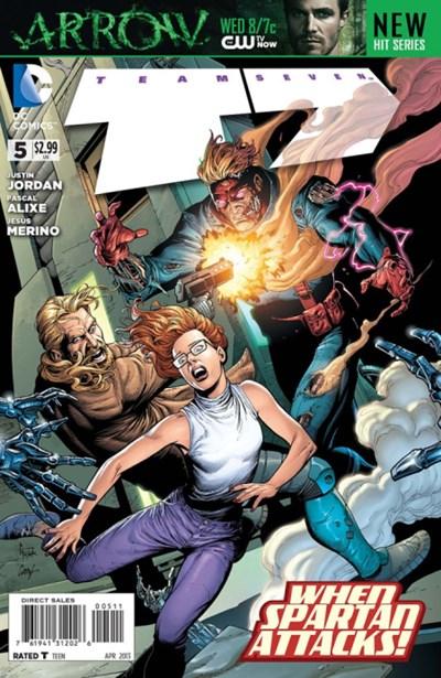 DC Comics- Team Seven #5 (oferta capa protetora)