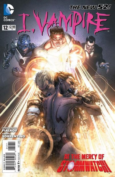 DC Comics- The New 52! I, Vampire #12  (oferta capa protetora)
