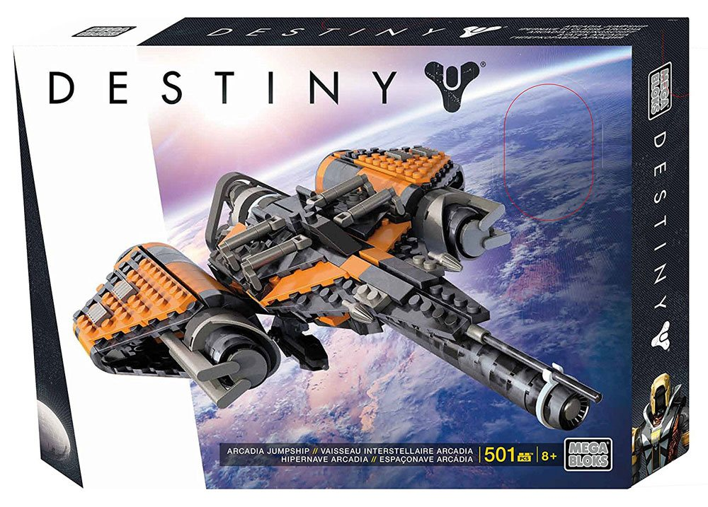 Destiny Mega Bloks Construction Set Arcadia Jumpship