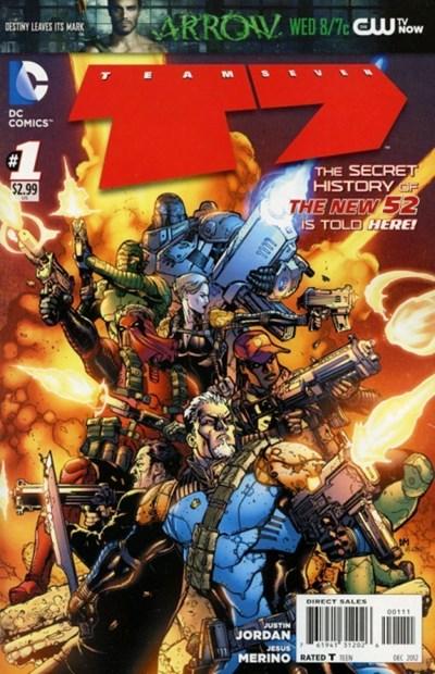 DC Comics- New 52: Team Seven #1 (oferta capa protetora)