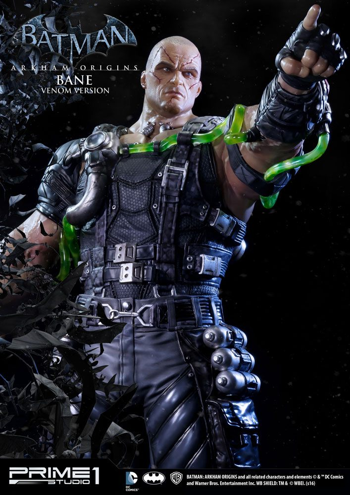 Batman Arkham Origins Museum Master Line Statue 1/3 Bane Venom Ver. 88 cm