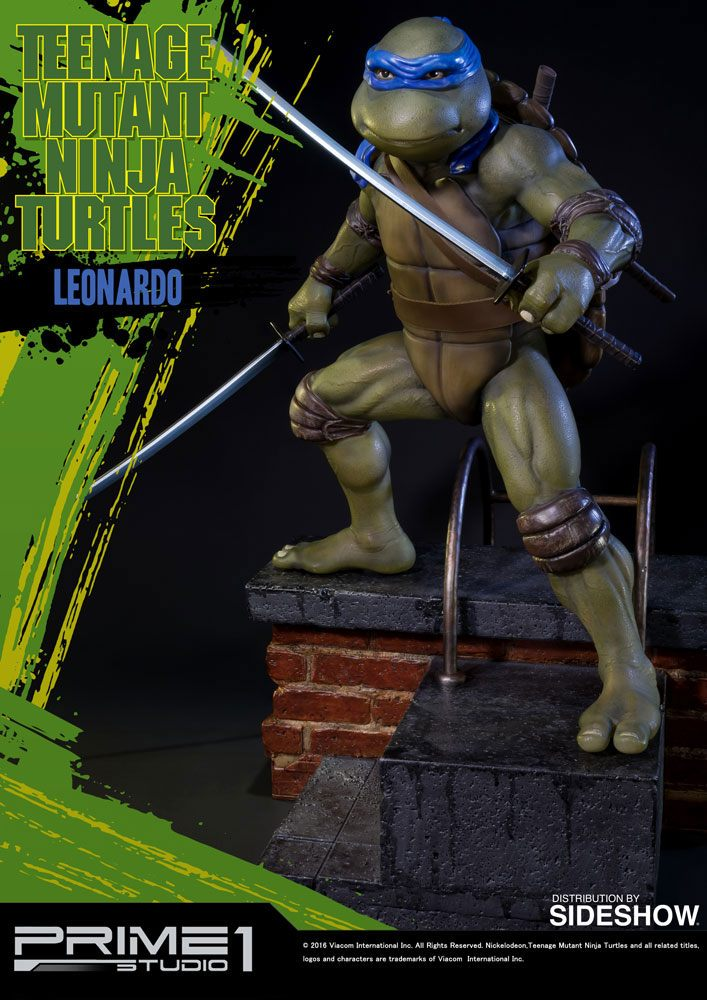 Teenage Mutant Ninja Turtles 1990 Statue Leonardo 52 cm