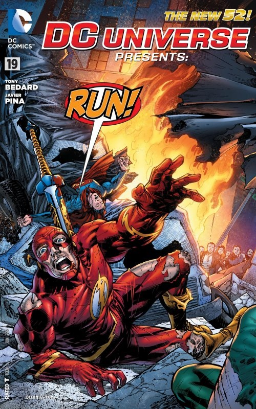 DC Comics- The New 52! DC Universe Presents Run #19 (oferta capa protetora)