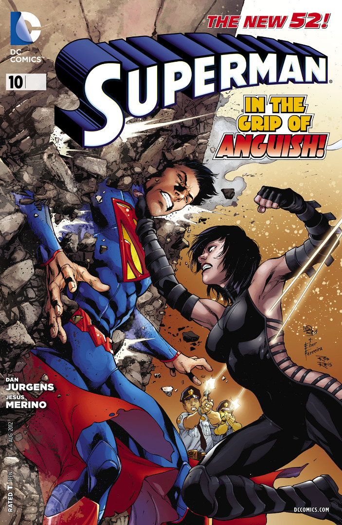 DC Comics- The New 52! Superman grip of Anguish!#10 (oferta capa protetora)