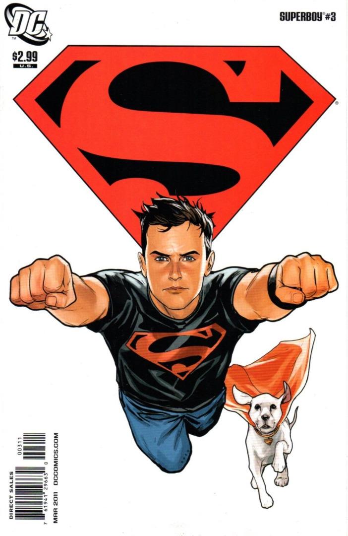 DC Comics - Superboy #3 (oferta capa protetora)