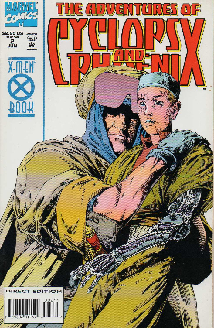 Marvel Comics The Adventure of Cyclops & Phoenix #2 (oferta capa protetora)