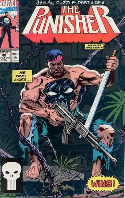 Marvel Comics - The Punisher Jigs Aw Puzzle 6 #40 (oferta capa protetora)