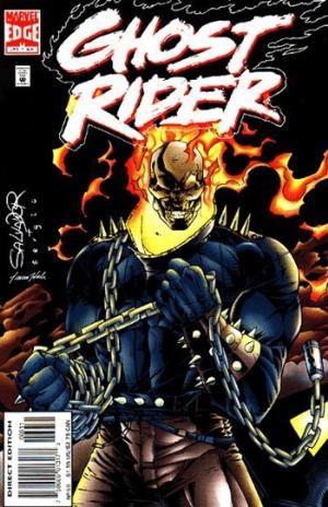 Marvel Comics - Ghost Rider #69 (oferta capa protetora)