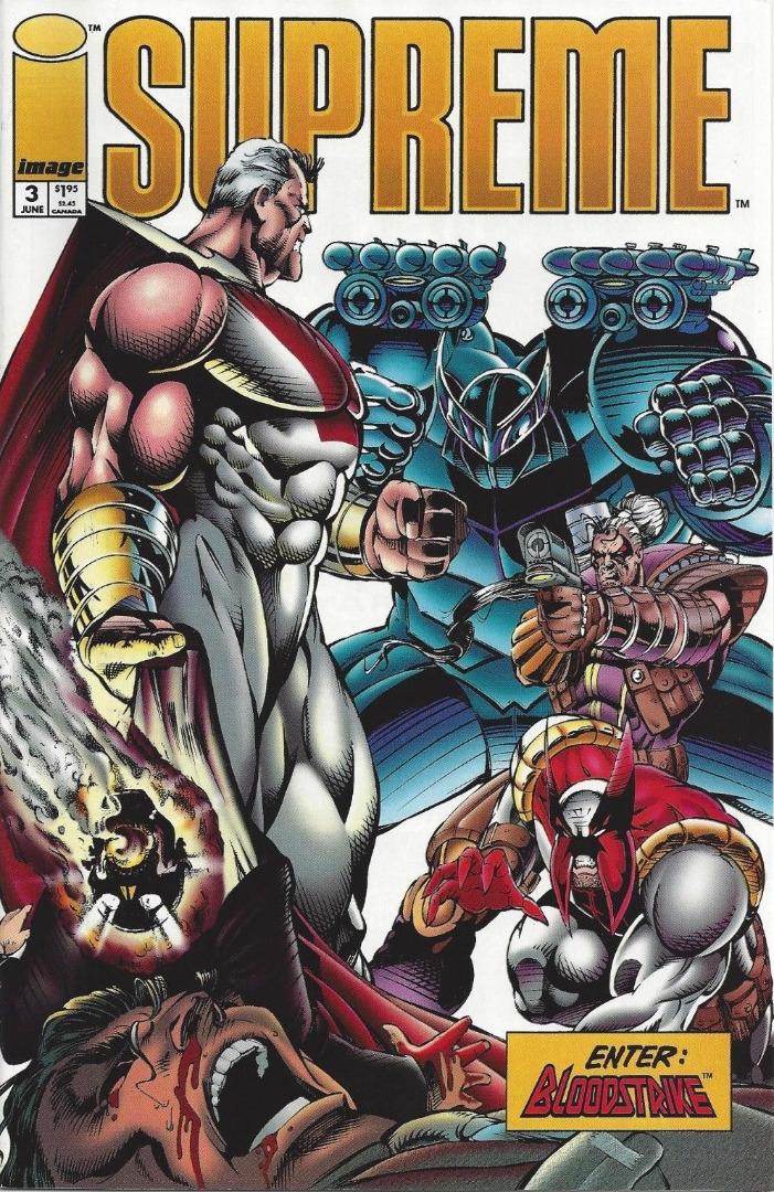 Image Comics - Supreme Enter Bloodstrike #3 (oferta capa protetora)