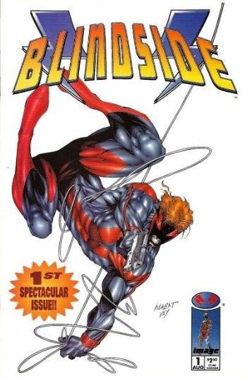 Image Comics - Blindside #1 (oferta capa protetora)