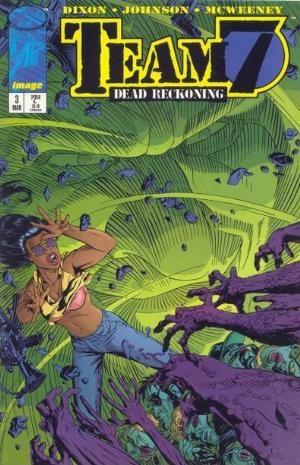 Image Comics - Team 7 Dead Reckning #3 (oferta capa protetora)