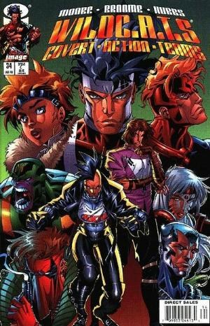 Image Comics - Wildc.A.T.S: Covert Action Teams #34 (oferta capa protetora)