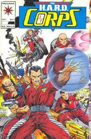 Valiant Comics - The H.A.R.D. Corps #1(oferta capa protetora)
