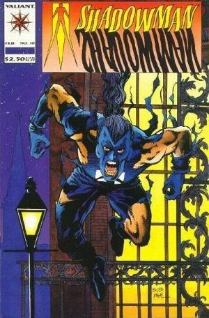 Valiant Comics - Shadowman #10 (oferta capa protetora)