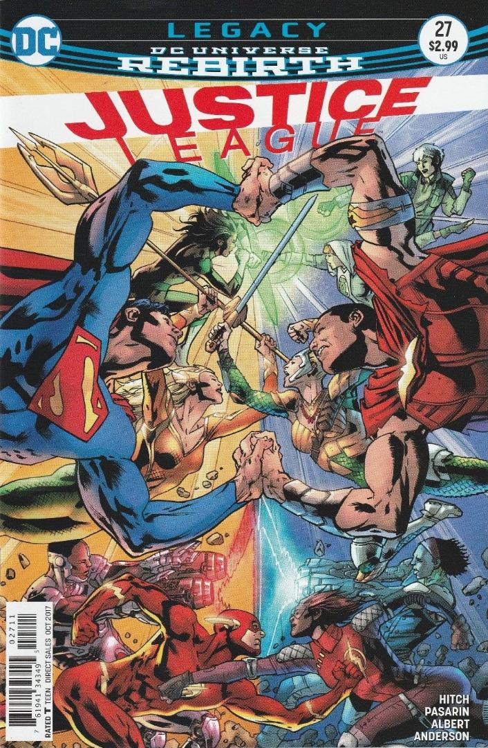 DC Comics - Legacy Rebirth Justice League #2 (oferta capa protetora)