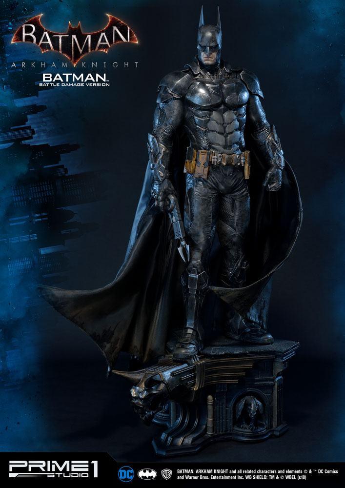 Batman Arkham Knight Statue 1/3 Batman Battle Damage Version 86 cm