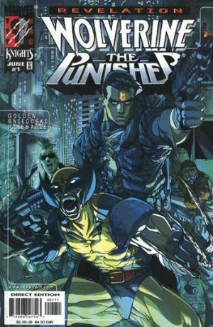 Marvel Comics - Revelation Wolverine The Punisher Full Set # 1-4