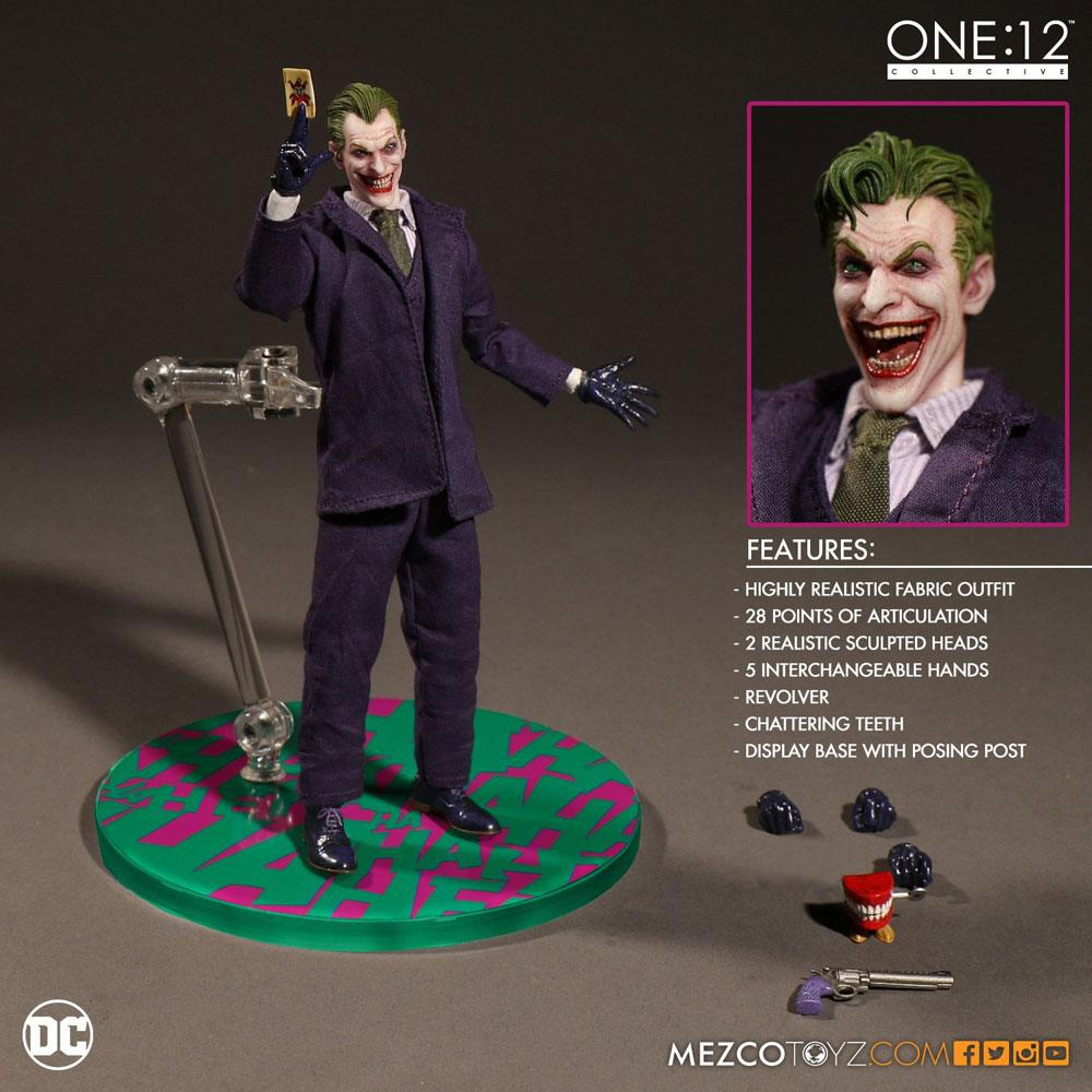 DC Comics Action Figure 1/12 The Joker 17 cm