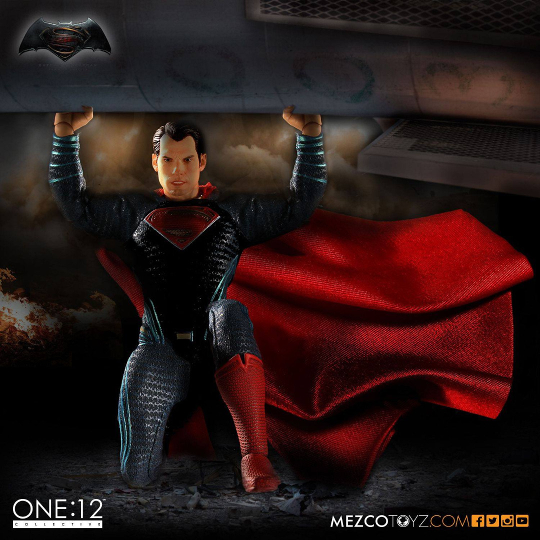 Batman v Superman Dawn of Justice Action Figure 1/12 Superman 15 cm