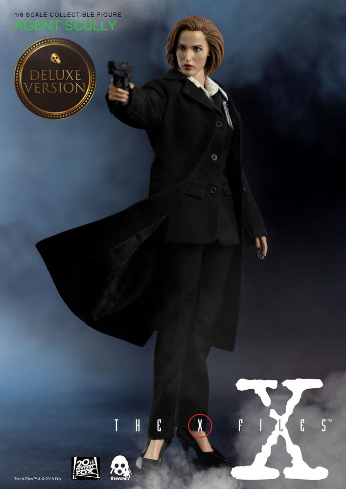 The X-Files Action Figure 1/6 Agent Scully Deluxe Version 28 cm