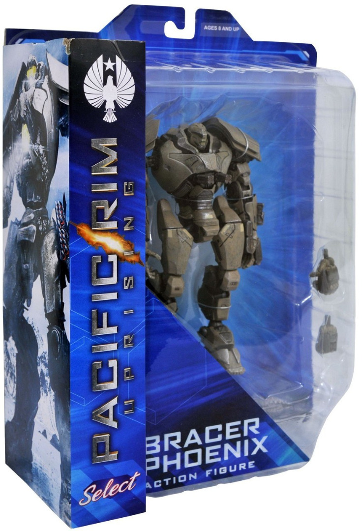Pacific Rim Uprising Serie 1 Select Action Figure Bracer Phoenix 18 cm