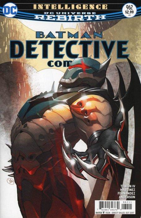 DC Comics- Batman Detective Rebirth #962 (oferta capa protetora)
