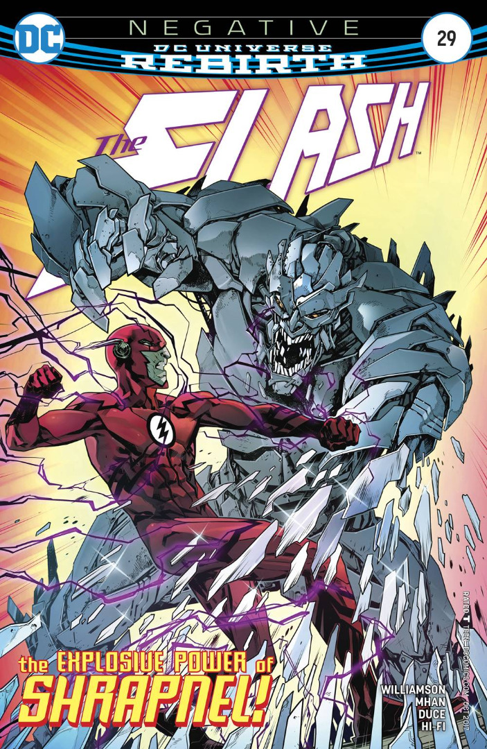 DC Comics - Negative Rebirth The Flash #29 (oferta capa protetora)