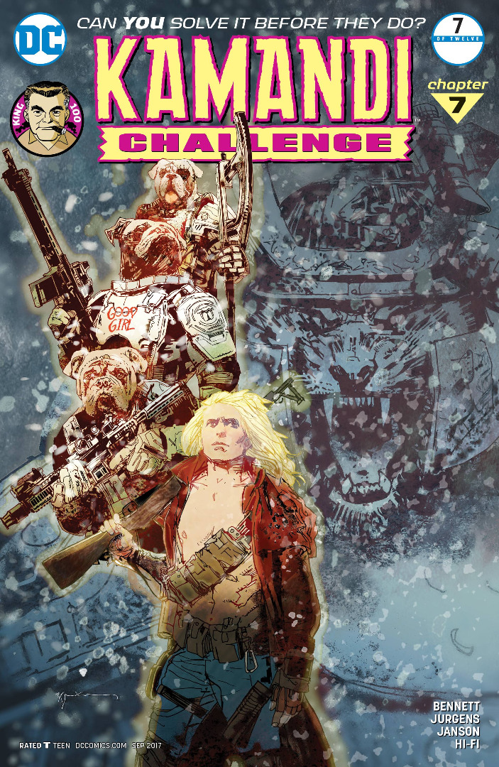 DC Comics - KAMANDI CHALLENGE #7 (oferta capa protetora)