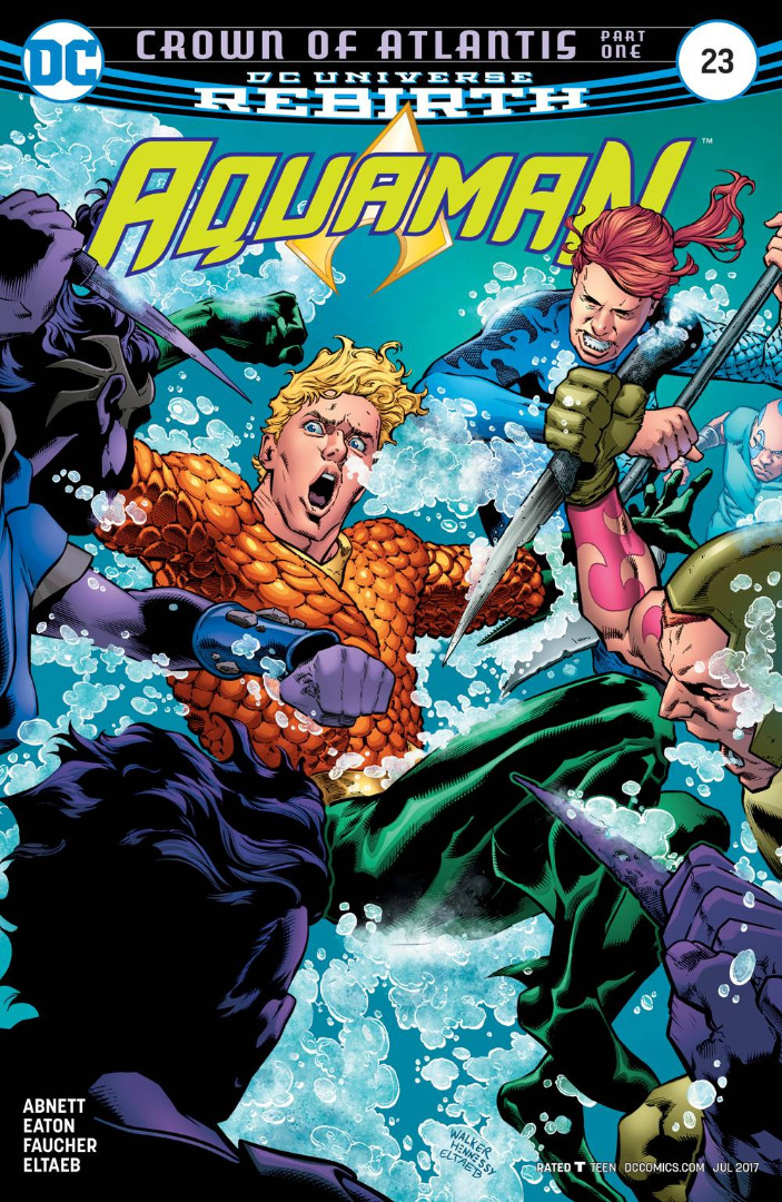 DC Comics - Crown of Atlantis Part One Aquaman  #23 (oferta capa protetora)