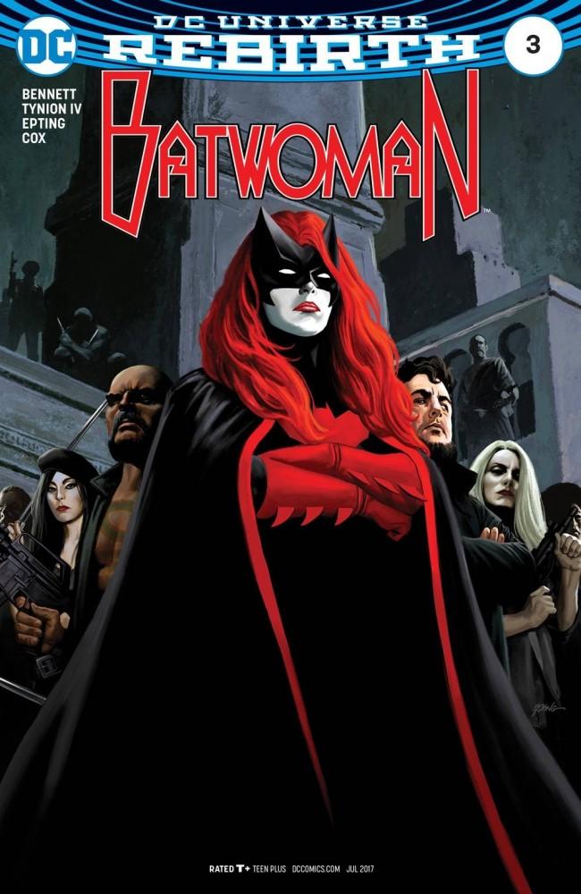 DC Comics - Batwoman Rebirth #3 (oferta capa protetora)