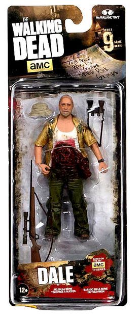 The Walking Dead Comic Series 9 Dale 13 cm
