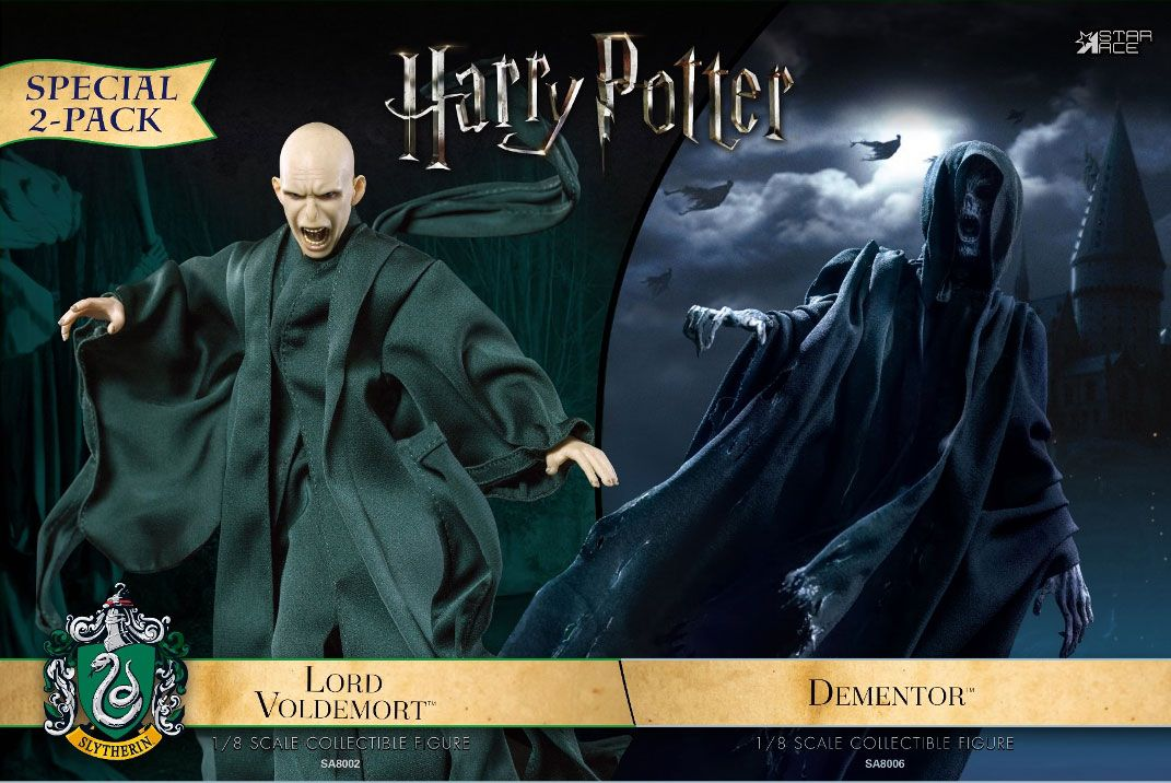 Harry Potter Action Figure 2-Pack 1/8 Dementor & Voldemort 16-23 cm
