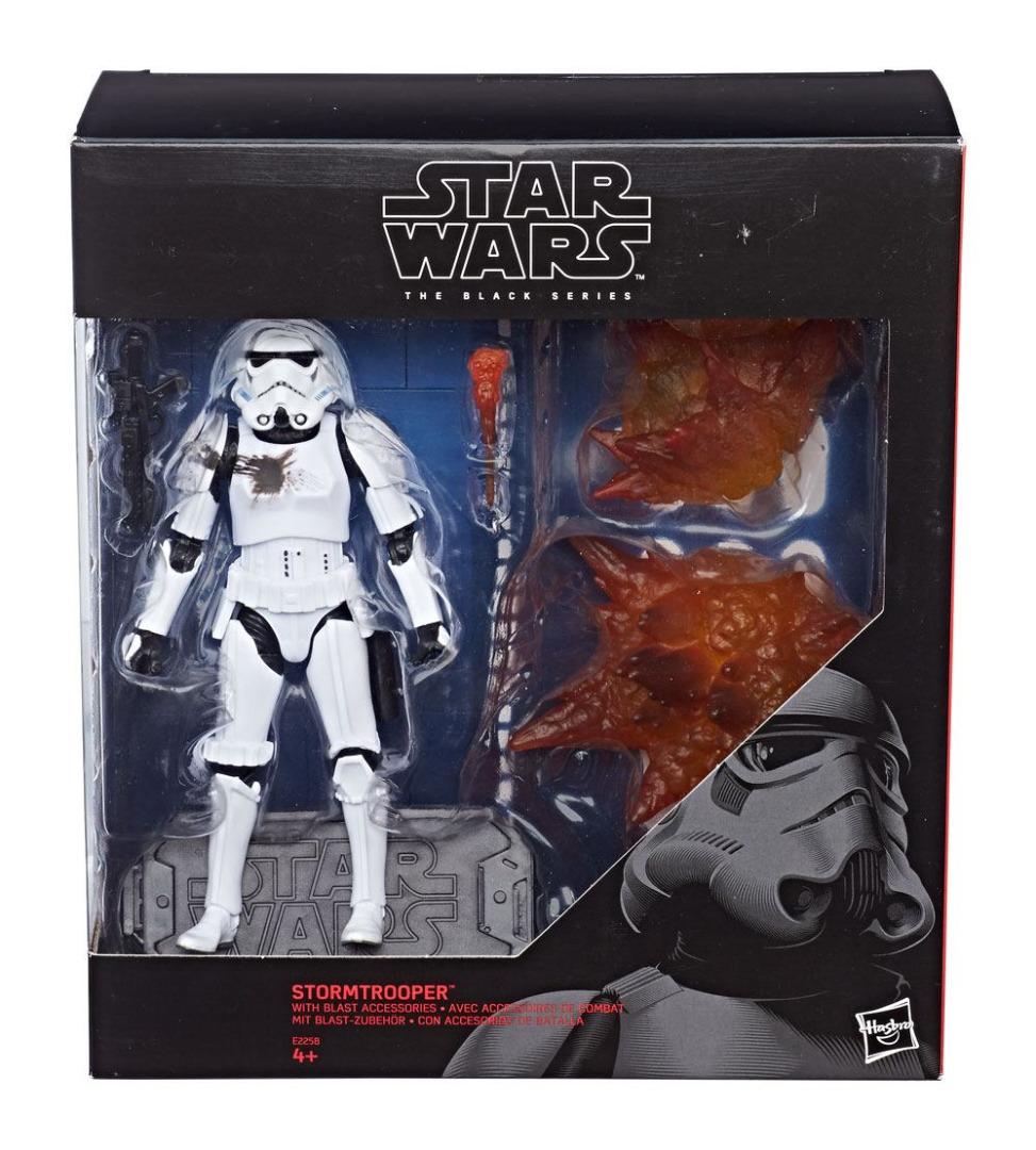 Star Wars Black Series Action Figure 2018 Stormtrooper Blast Accessories