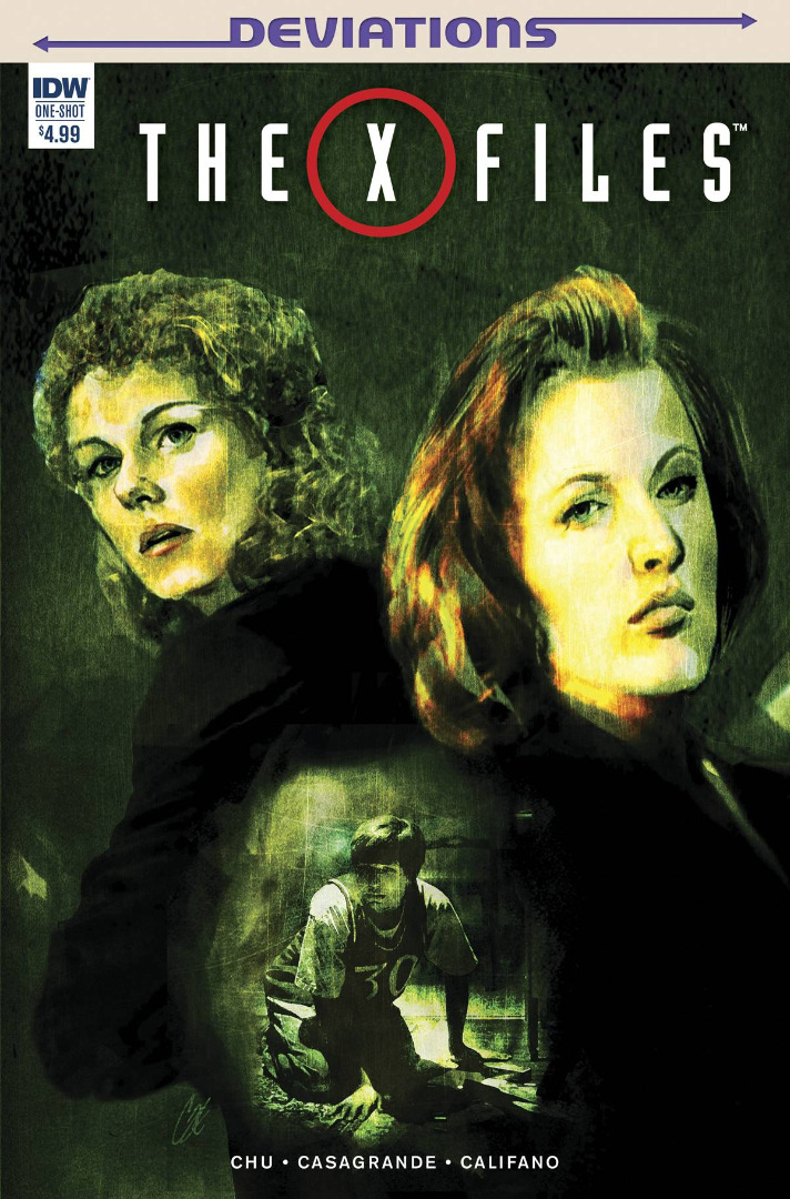 IDW Comics - The X-Files #One-Shot (oferta capa protetora)