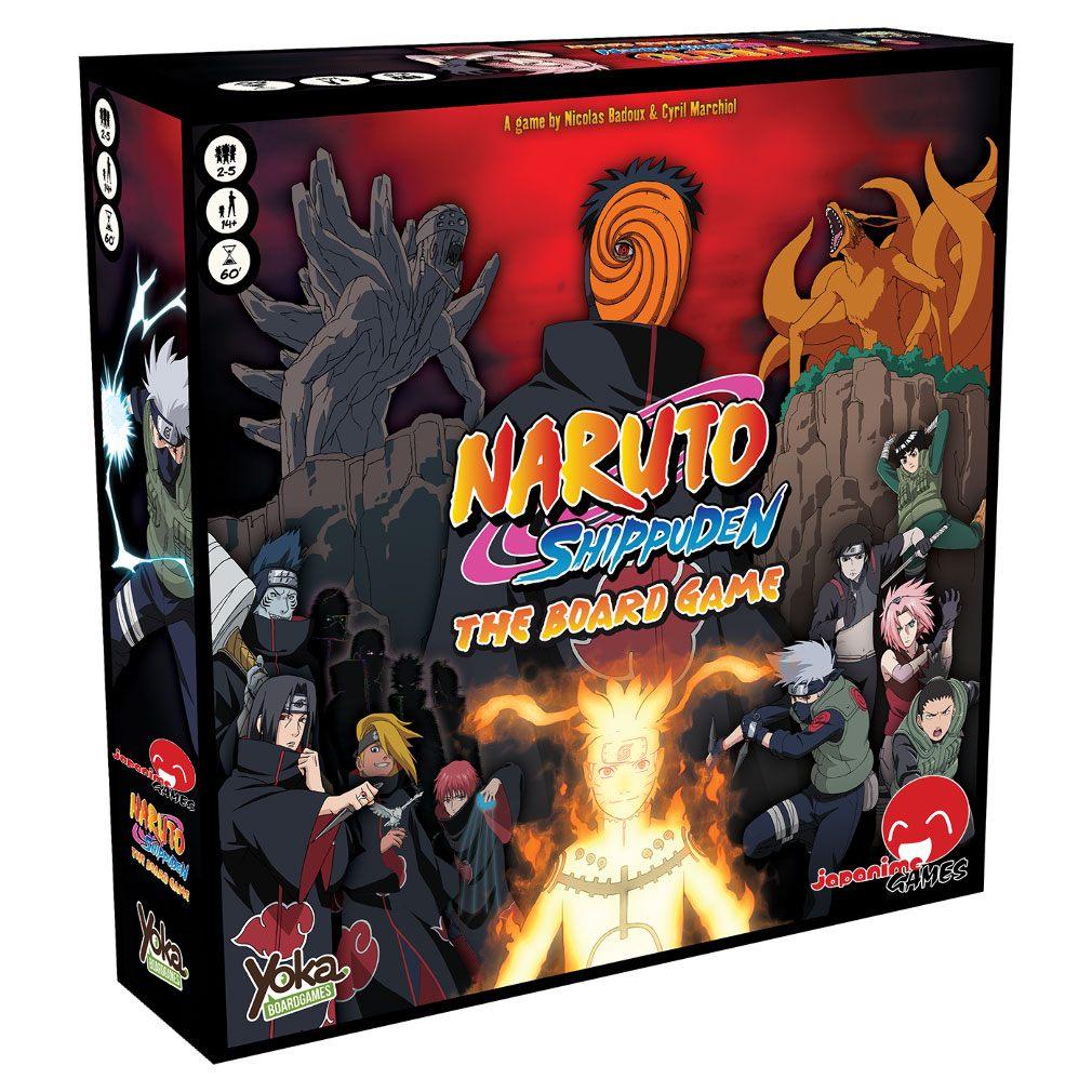 Naruto Shippuden Board Game *English Version*
