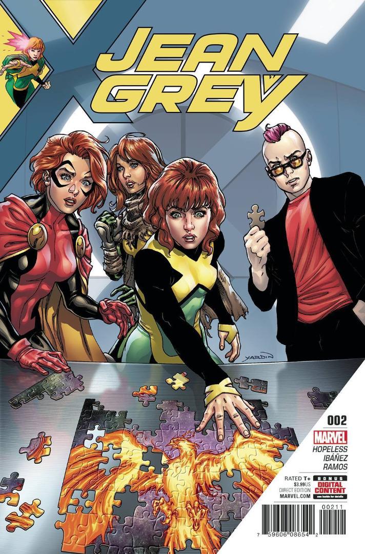 Marvel Comics - Jean Grey #002 (oferta capa protetora)