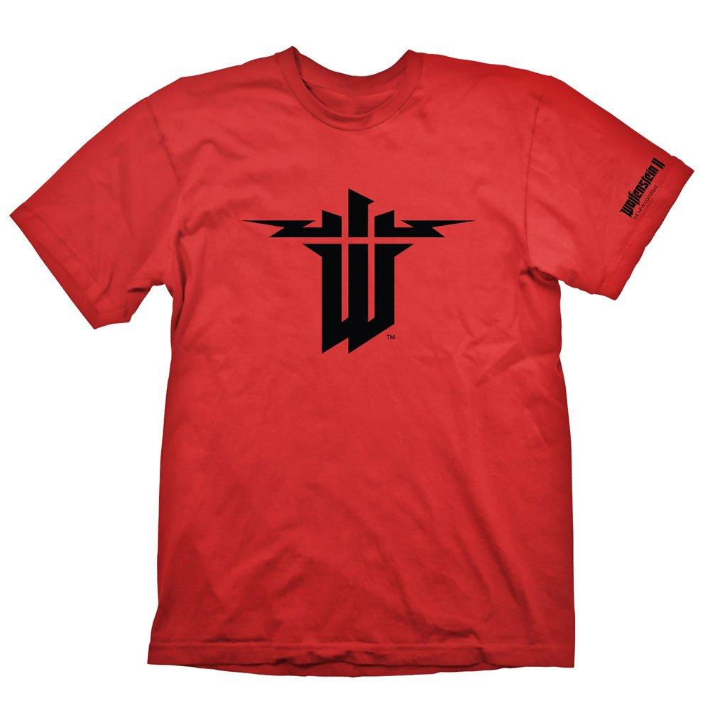 T-Shirt Wolfenstein II Symbol Tamanho XL