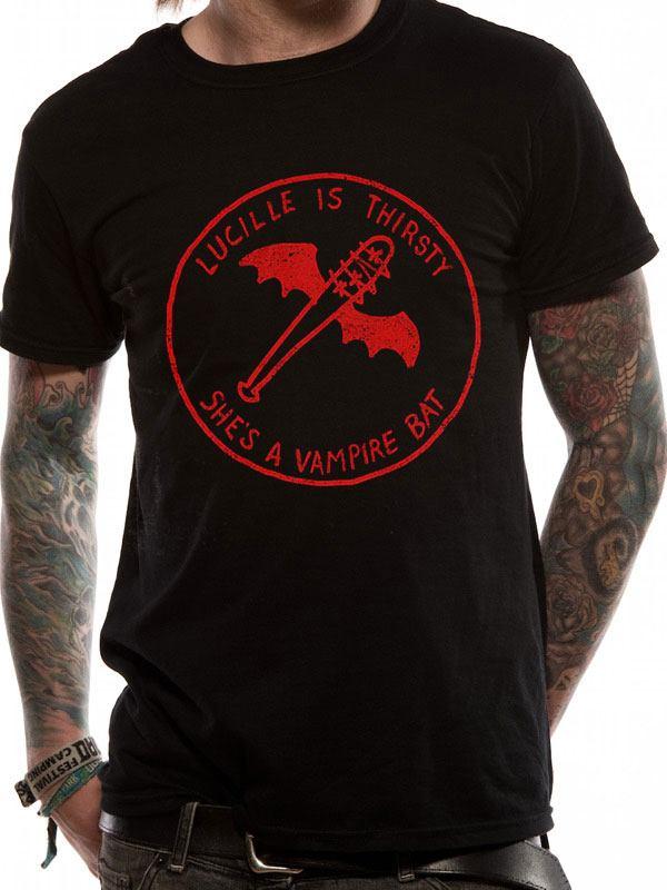 T-Shirt The Walking Dead Vampire Bat Tamanho M