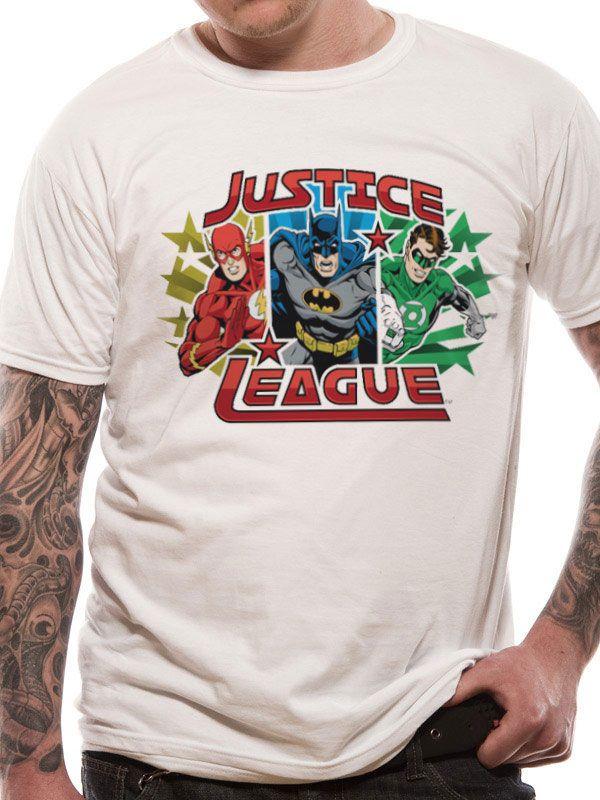 T-Shirt Justice League Trio Tamanho XL
