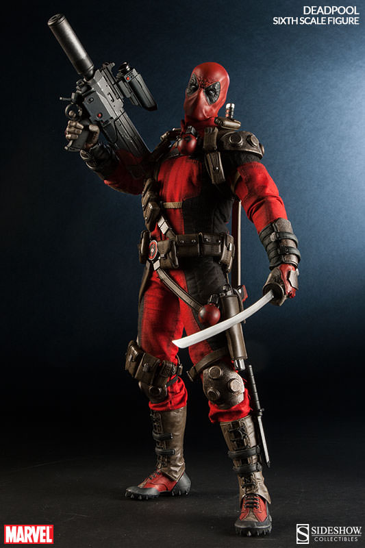 Marvel: Deadpool 1:6 Scale Figure