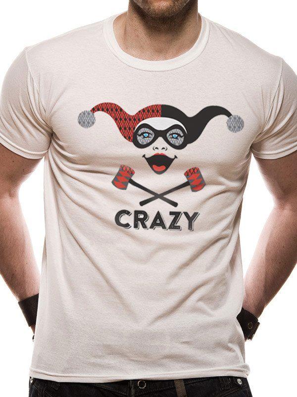 T-Shirt DC Comics Harley Quinn Crazy Tamanho L