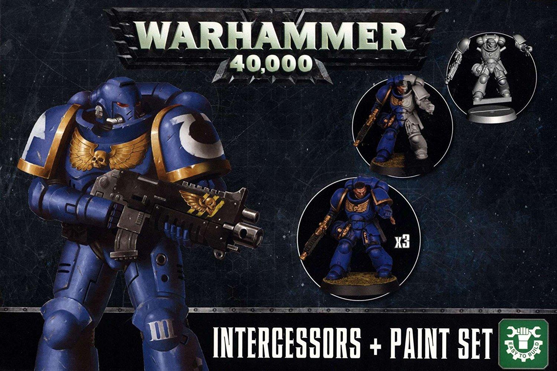 Warhammer 40,000 Intercessors + Paint Set