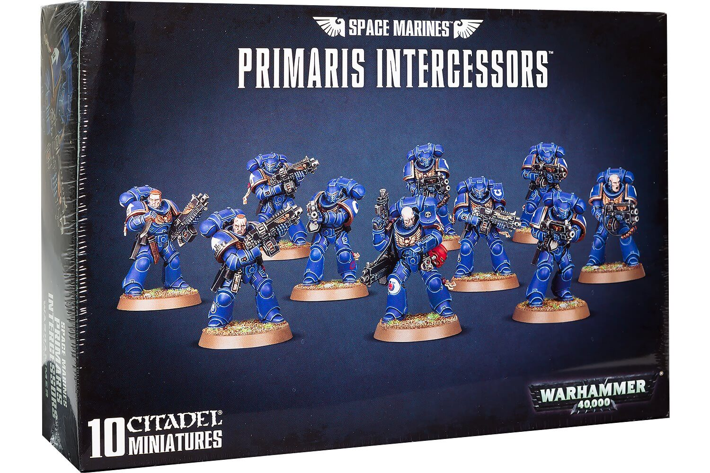 Warhammer 40,000 Space Marines Primaris Intercessors