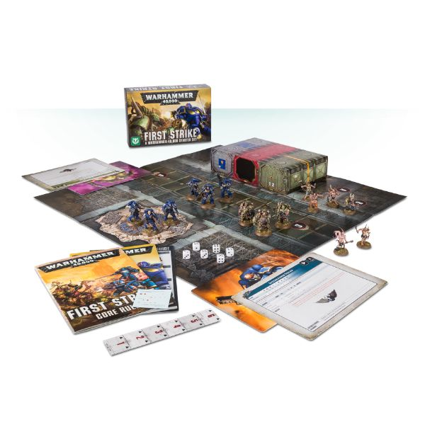 Warhammer 40,000 First Strike Set Game