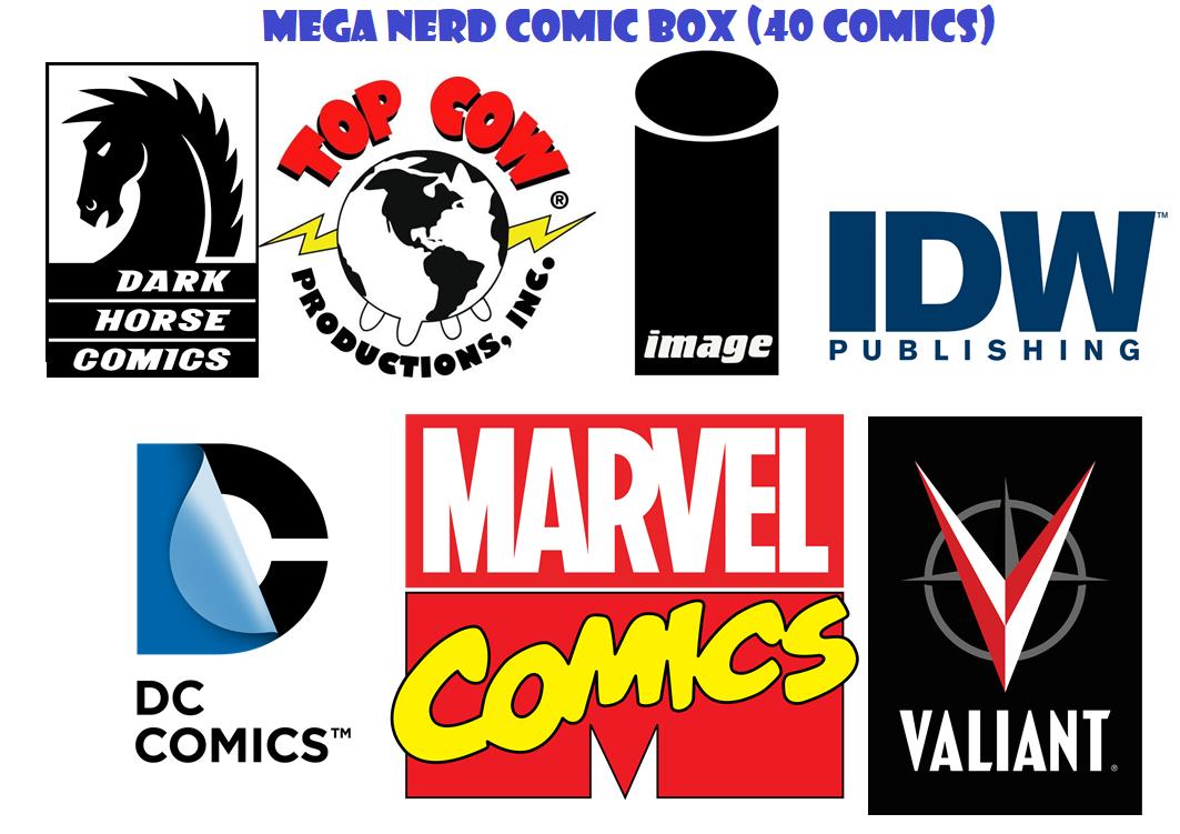 Mega Nerd Comic Box (contém 40 comics)