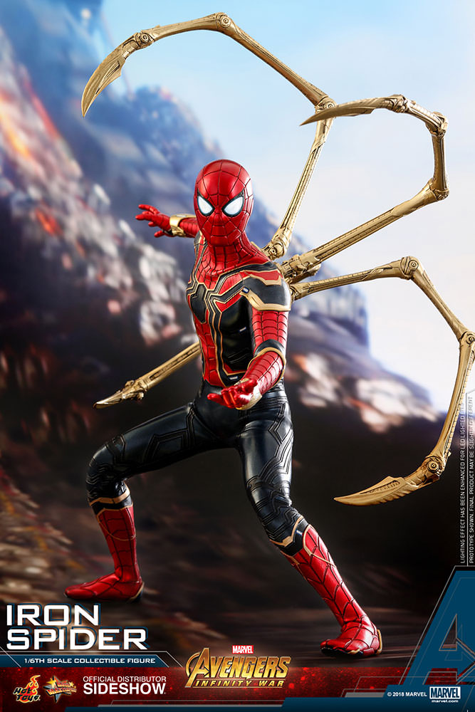 Marvel: Avengers Infinity War - Iron Spider 1:6 Scale Figure