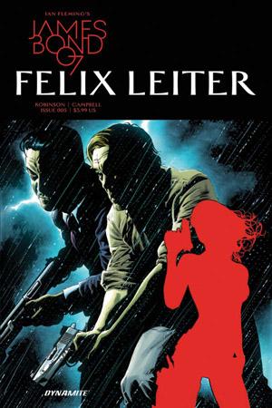 Dynamite Comics- James Bond 007 Felix Leiter #5 (Oferta de Capa Protectora)