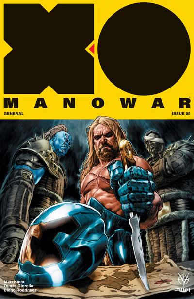 Valiant Comics - X-O Manowar #5 (Oferta de Capa Protectora)