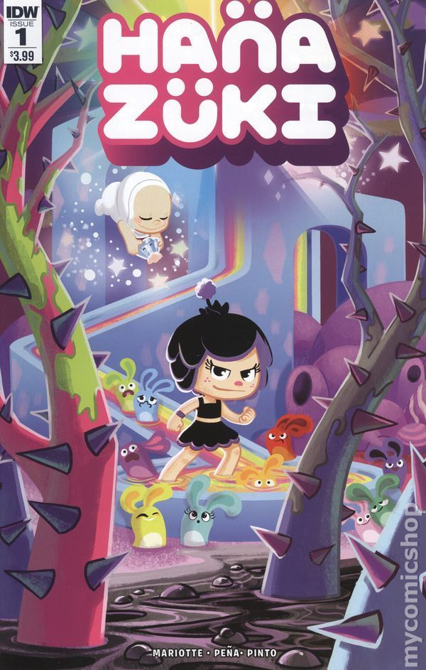 IDW Comics - Hanazuki Full Of Treasures #1 (Oferta de Capa Protectora)