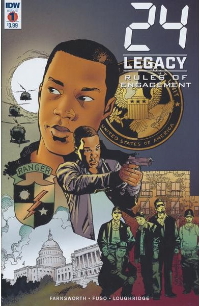 IDW Comics - 24: Legacy: Rules Of Engagement #1 (Oferta de Capa Protectora)